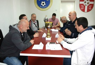Žrebanje parova 1/4 Kupa FSJO Leskovac,17.o4.2017.god. Foto:Miloš Stamenković