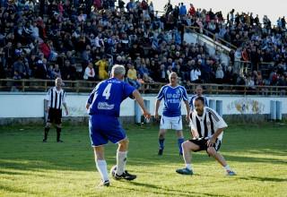 Detalji sa utakmice veterana Vučje-Partizan (3:5) 24.april 2017.god. Foto:Miloš Stamenković