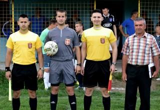 Polufinale Kupa FSJO Mladi borac-Moravac Orion Živkovo,03.maj 2017.god. Službena lica Foto:Miloš Stamenković