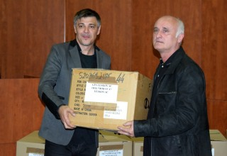 Poseta predsednika FSS Slaviša Kokeza u FSJO Leskovac,07.05.2017.god. Foto:Miloš Stamenković