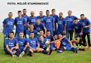 Osvajači KUP-a FSJO 2016/2017. FK Moravac Orion