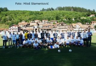 Za istoriju fudbala i FSJO Zajednički snimak FK Jedinstvo i Selekcija MFL Grdelica,25.jun 2017.