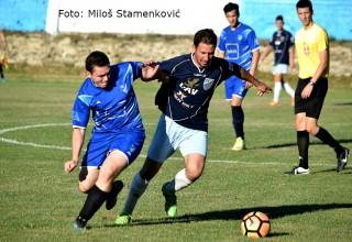 Detalj sa reijalne utakmice FK Jedinstvo,plava oprema-Selekcija MFL Grdelica,25.jun 2017.