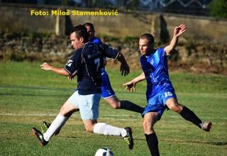 Detalj sa revijalne utakmice FK Jedinstvo-Selekcija MFL(0:1) Grdelica,25.jun 2016.