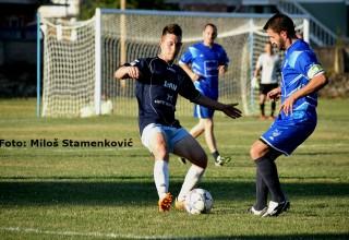 Detalj sa utakmice FK Jedinstvo-Selekcija MFL Grdelica,25.jun 2017.
