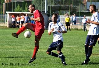 FK Sloga-FK Brzi Brod Detalj sa utakmice 2.kola Zone JUG Leskovac,26.08.2017.god.