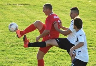 FK Sloga-FK Brzi Brod(0:3) Detalj sa utakmice 2.kola Zone JUG Leskovac,26.08.2017.god.