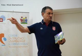 Predavač Aleksandar Milenković,Seminar služb. lica FSJO-Leskovac,16.avgust 2017.god.