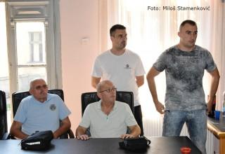 Dodela godišnjih priznanja FSJO Poptpredsednik Radovan Stanković sa gostima Leskovac, 18.avgust 2017.