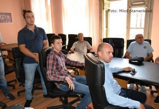 Dodela godišnjih priznanja FSJO Gosti i funkcioneri Saveza Leskovac,18.avgust 2017.