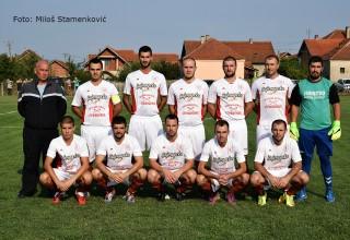 Derbi 1.kola JOL Jedinstvo(G. Stopanje) sa trenerom Goranom Mihajlovićem G.Stopanje,20.08.2017.
