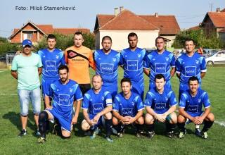 Derbi 1.kola JOL FK Jedinstvo(Grdelica) sa trenerom Bratislavom Cvetkovićem G.Stopanje,20.08.2017.