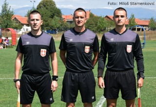 Omladinska liga FS Srbije Sud.trojka:D.Dimitrijević,M.Mitić,A.Đorđević Mrštane,29.08.2017.god.