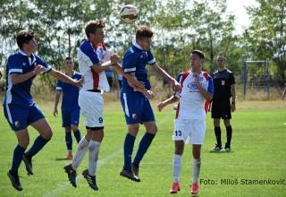 Omladinska liga FSS Moravac Orion-Vojvodina Detalj sa utakmice 4.kola (1:1) Mrštane,29.08.2017.god