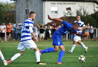 Derbi 5.kola JOL,detalj sa utakmice FK Jedinstvo-FK Vučje 4:0(2:0) Gornje Stopanje,17.09.2017.god.