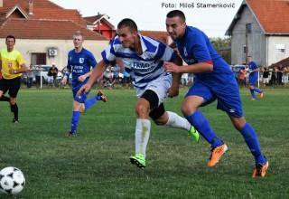 Derbi 5.kola JOL ,detalj sa utakmice FK Jedinstvo-FK Vučje 4:0(2:0) Gornje Stopanje,17.09.2017.god.