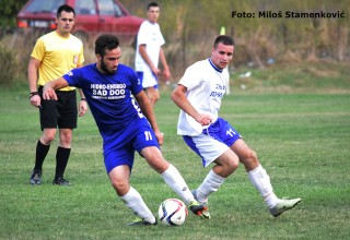 Detalj sa utakmice 6.kola MFL Mladost-Radnik Sušica(2:0) Batulovce,24.09.2017.god.