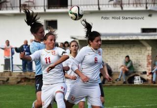 Prva liga FSS,3.kolo,detalj sa utakmice ŽGFK Dubočica-ŽFK Šumadija 1:2(1:1) Leskovac,08.10.2017.god
