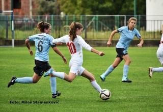 Prva liga FSS,3.kolo,detalj sa utakmice ŽGFK Dubočica-ŽFK Šumadija(Kragujevac) Leskovac,08.10.2017.god.