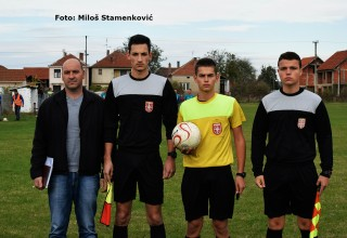 Prvenstvo MFL: Bratstvo-Plantaža 2:0 Službena lica na utakmici Bratmilovce,29.10.2017.godine.