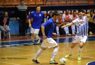 Treća Futsal liga, 1.kolo KMF Leskovac-Akademac, detalj sa utakmice Leskovac, 06.10.2017.god.