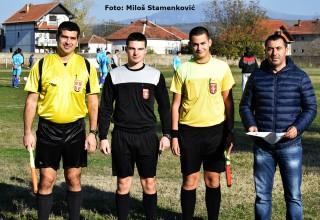 FK Železničar-FK Polet,12.kolo JOL Službena lica na utakmici Brestovac,5.11.2017.godine.