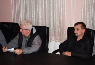 Konferencija klubova JOL Predstavnici FK Jedinstvo(G.Stopanje) Leskovac,10.11.2017.god.
