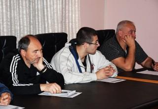 Konferencija klubova JOL Detalj sa radnog skupa Leskovac,10.11.2017.godine.