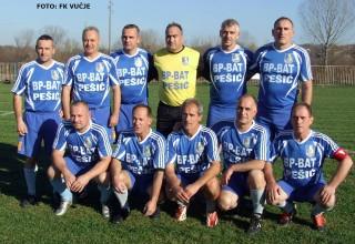 Revijalna utakmica veterana Ekipa veterana Vučja Vučje 23.11.2017.godine.