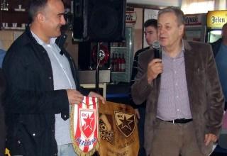 Vučje-Crvena Zvezda(veterani) 0:3(0:1) 72.rođendan FK Vučje,razmena poklona Vučje,23.11.2017.godine.