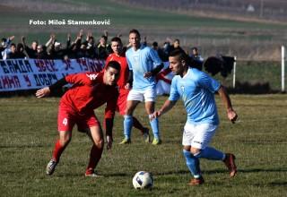 Prijateljska utakmica u D.Jajini Zonaš iz Srbije i drugoligaš iz Makedonije. Subota,17.02.2018.godine.