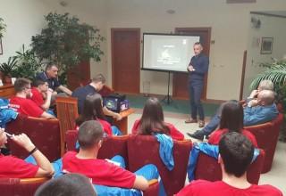 U posti kampu perspektivnih sudija,FIFA sudija Dalibor Đurđević