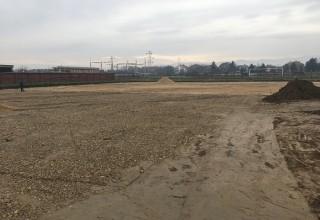 Izgradnja terena sa veštačkom travom u Leskovcu