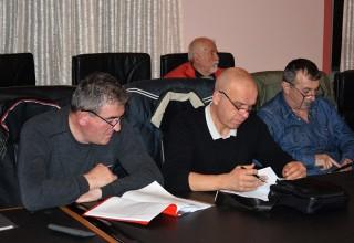 Treća sednica Skupštine FSJO Delegati iz OFS Lebane prate sednicu. Leskovac,07.mart 2018.godine.