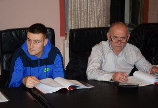 Treća sednica Skupštine FSJO Delegati jednoglasno usvojili izveštaje. Leskovac,07.mart 2018.godine.