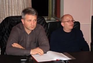 Treća sednica Skupštine FSJO Delegati Skupštine iz FK Jedinstvo(G). Leskovac,07.mart 2018.godine.