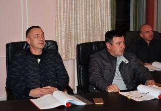 Treća sednica Skupštine FSJO Delegati s pažnjom prate rad. Leskovac,07.mart 2018.godine.