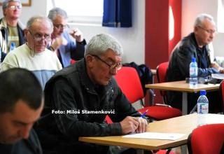 Seminar za delegate JOL i MFL. Provera znanja pred 16.kolo prvenstva. Leskovac,09.mart 2018.godine.