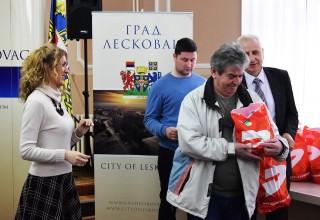 Donacija FSJO za FK Plantaža(D.Stopanje). Leskovac, 26.mart 2018.godine.