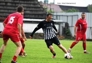 Memorijalna utakmica veterana. Detalj sa utakmice:Dubočica-Partizan(3:2) Leskovac,22.maj 2018.godine.