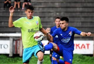Finale Kupa FSJO za sezonu 2017./2018. Detalj sa utakmice na Gradskom stadionu. Leskovac,16.jun 2018.godine.