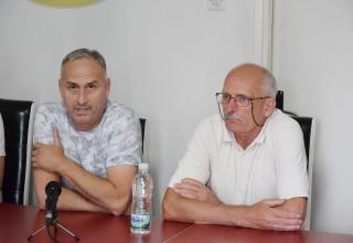 Finale Kupa FSJO za sezonu 2018.godine. Konferencija za medije bez klubova. Leskovac,15.jun 2018.godine.