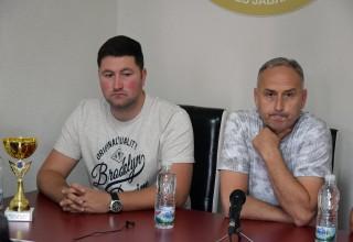 Konferencija za štampu bez klubova. Finale Kupa FSJO:Moravac Orion-Jedinstvo(B). Leskovac,15.o6.2018.godine.