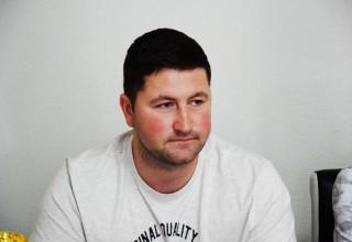 Finale Kupa FSJO za 2018.godinu Prvi operativac Saveza,Dušan Petković sa novinarima. Leskovac,15.jun 2018.godine.