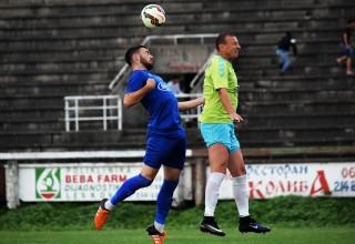 Finale Kupa FSJO na Gradskom stadionu. Moravac Orion-Jedinstvo 3:1(1:1). Leskovac,16.jun 2018.godine.