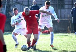 Otvaranje sezone 2019.godine. GFK Dubočica-Moravac Orion(1:1). Leskovac,09.02.2019.godiine.