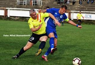 Detalj sa utakmice Srpske lige. GFK DUBOČICA-JEDINSTVO(Bošnjace) 1:3 Lskovac,16.mart 2019.godine.