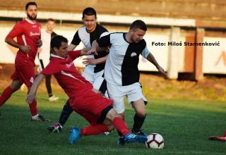 Srpska liga Istok,sezona 2018./2019. 21.kolo: GFK Dubočica-Sinđelić 2:2(0:2). Leskovac, subota, 30.mart 2019.godine