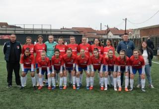 ŽFK REČICA(Kumanovo) Gost Leskovca,prvoligaš iz Makedonije. Leskovac, 03.mart 2019.godine.