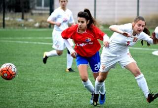 Međunarodna prijateljska utakmica. Detalj sa utakmice. Leskovac,03.mart 2019.godine.